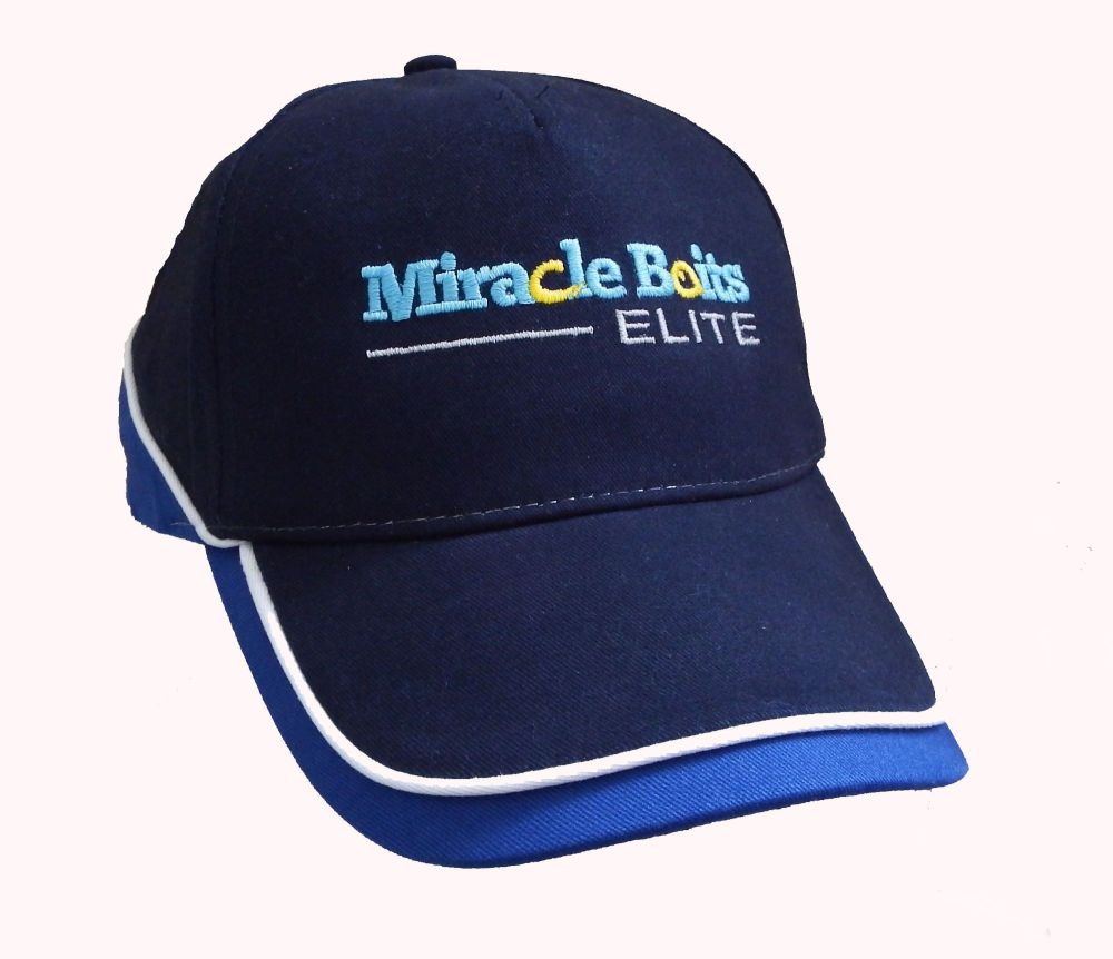 Black & Blue Miracle Baits Base Ball Cap