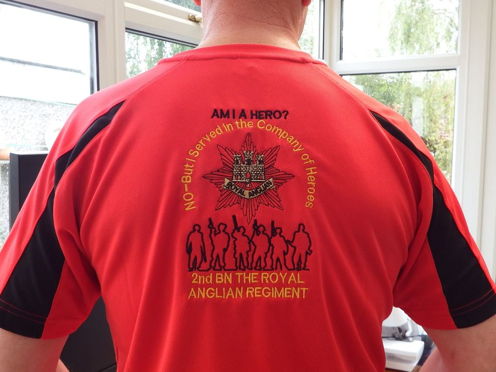 In The Company of Heroes Polo Shirts