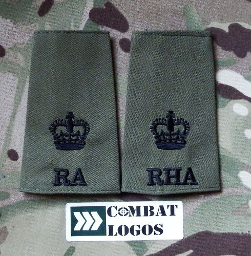 Royal Artillery Rank Slides