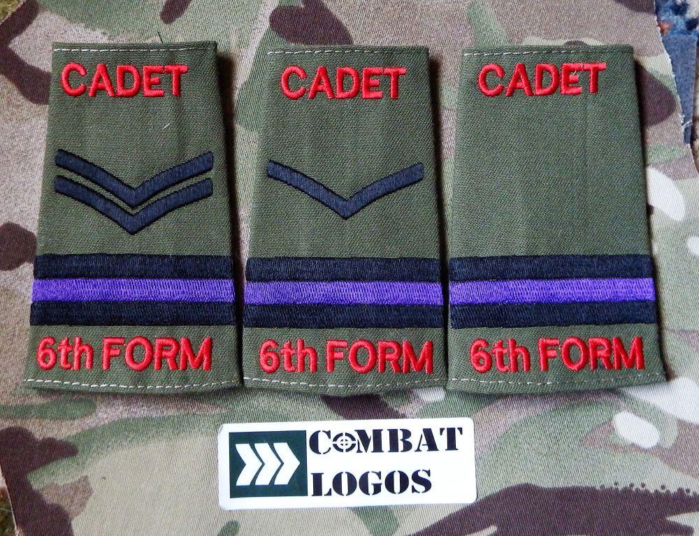 CCF Cadet Rank Slides