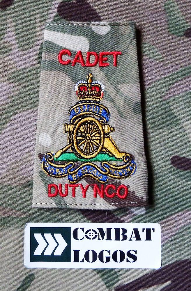 Regimental Duty NCO Rank Slides