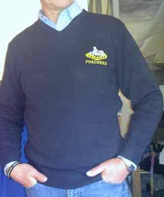 Poachers V-Neck Jumper