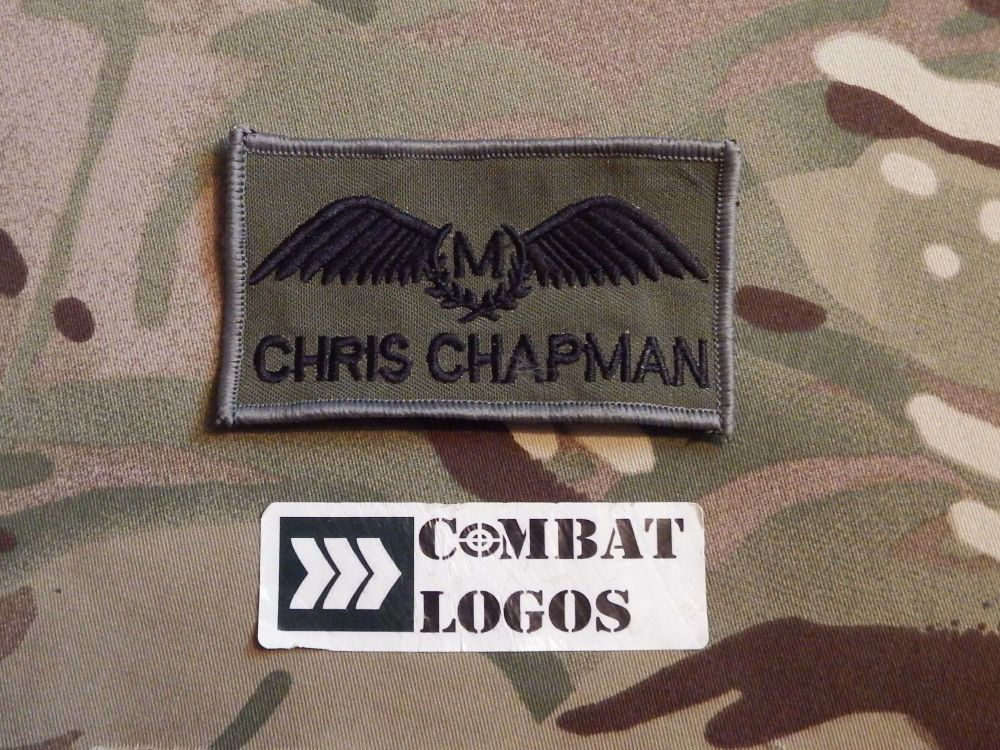Pilot Wings Name Patch Pack