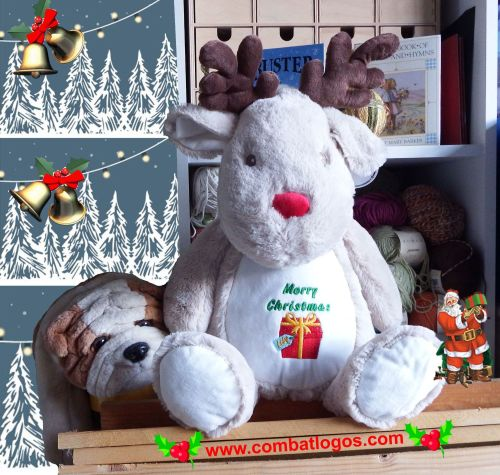 Personalised Cuddly Reindeer