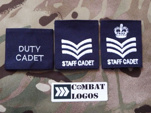 RAF Air Cadets & CCF RAF Section Rank Slides