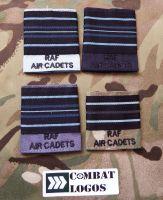 Small RAF Air Cadets Rank Slides
