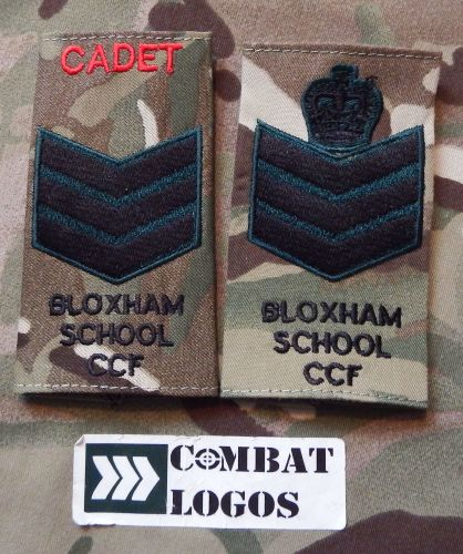 CCF Cadet Rank Slides