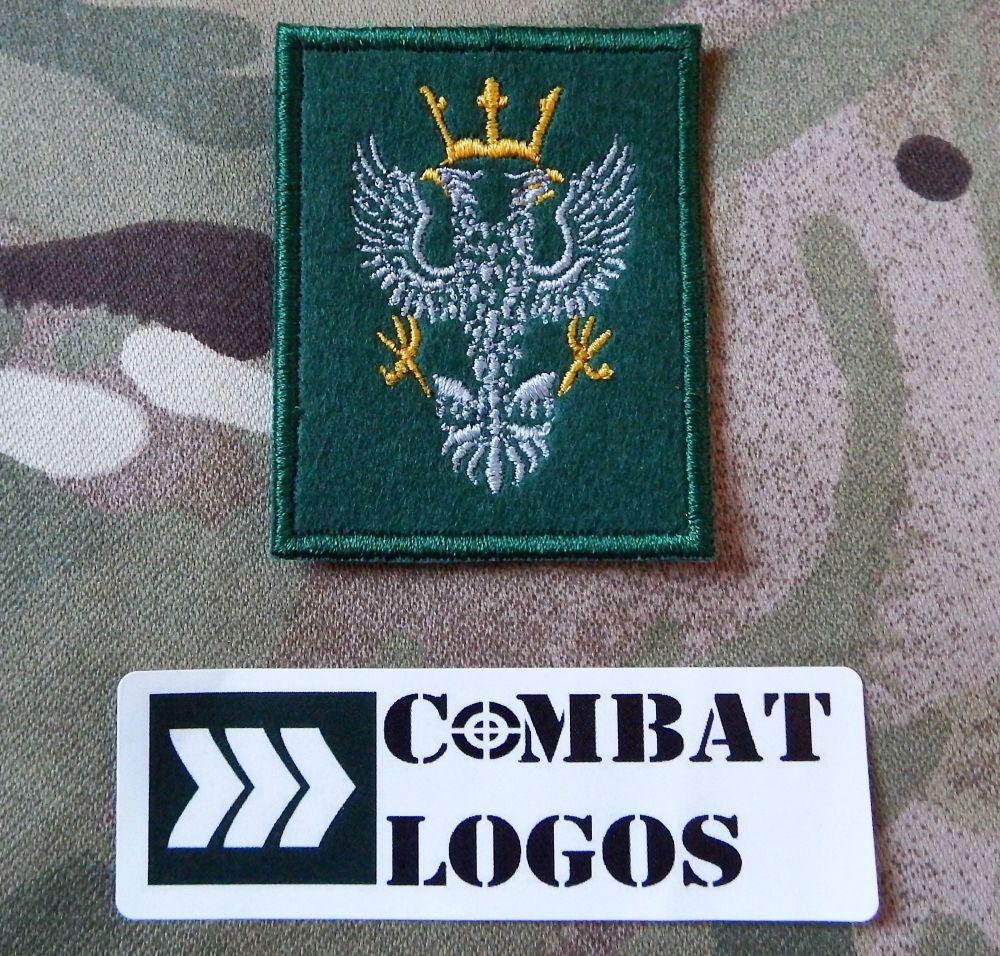 Cloth Mercian Cap Badge
