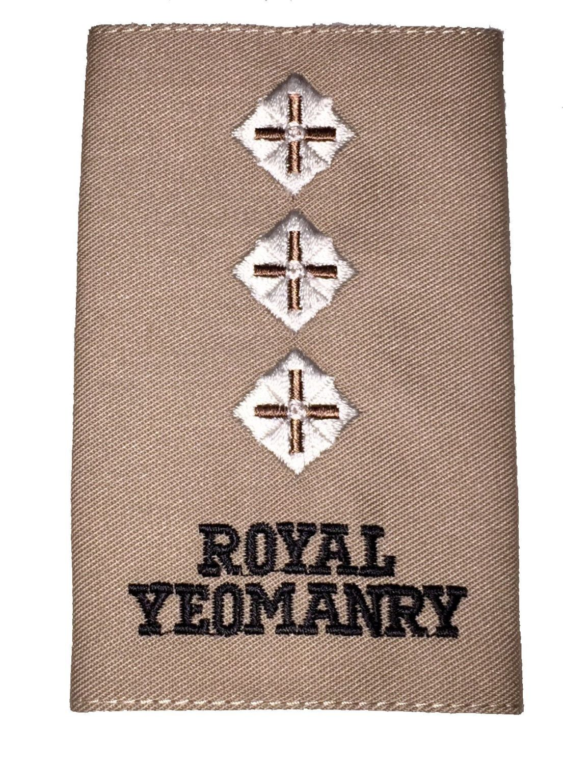 Royal Yeomanry Rank Slides