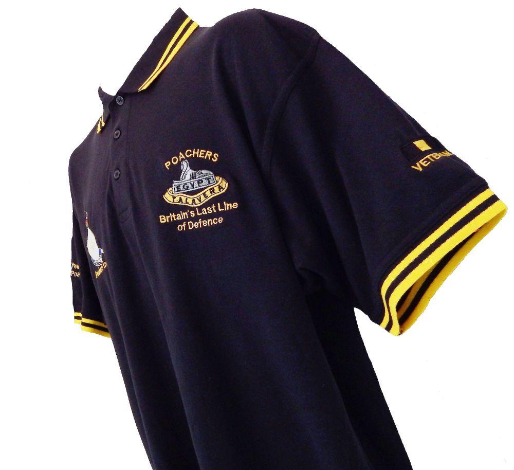 Veterans Contrast Polo Shirt