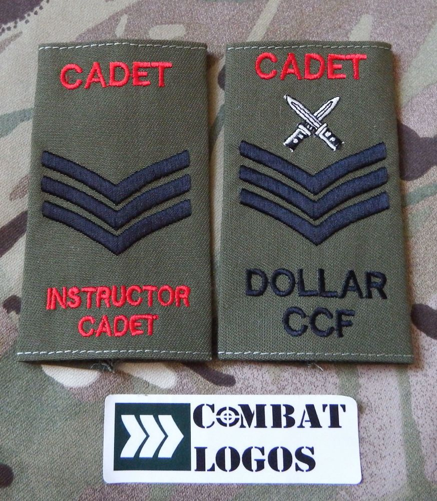 ACF Cadet Rank Slides