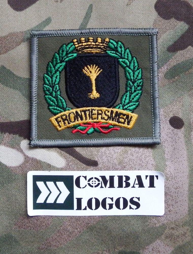 Welsh Frontiersmen Badge