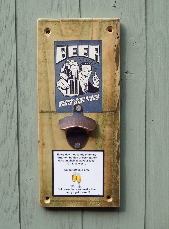 Bespoke Wall Mounted Bottle Opener