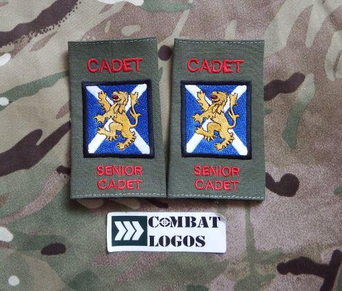 ACF & CCF Duty NCO Rank Slides