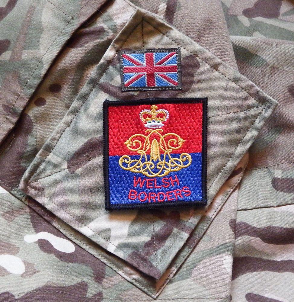 17th 21st Lancers Cloth Cap Badges