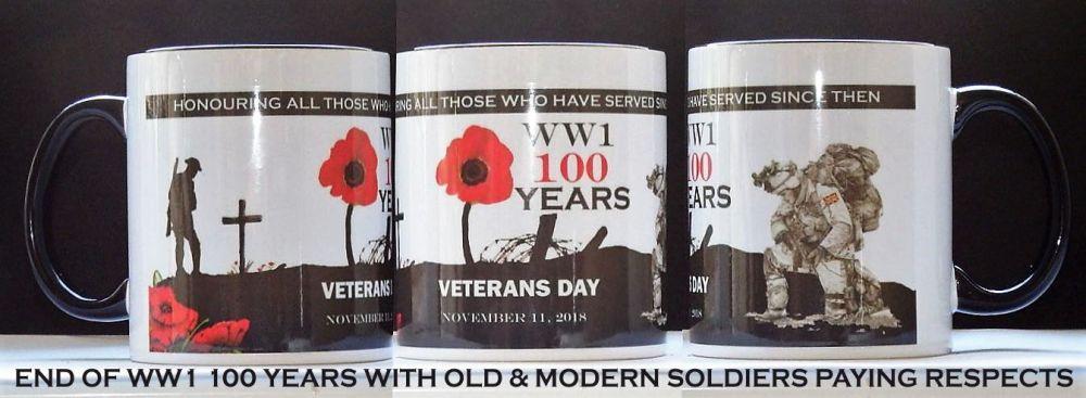 WW1 100 Years Mug