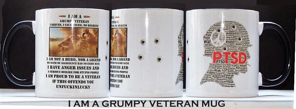 I Am A Grumpy Veteran Mug