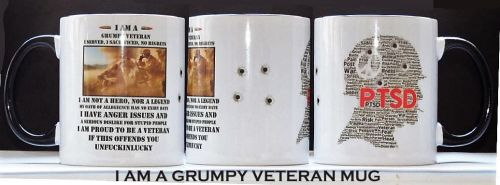 I Am A Grumpy Veteran Mug