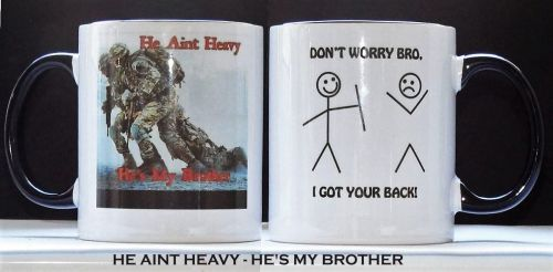 He Aint Heavy - He's My Brother Mug
