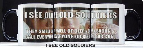 I See Old Soldiers Mug