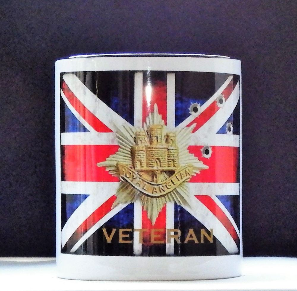 Bespoke Royal Anglian Mugs