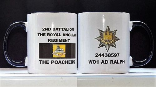 Royal Anglian Veterans Day Mugs