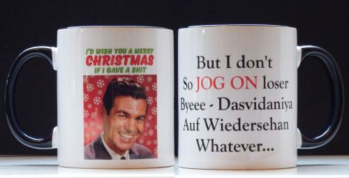 Poachers Christmas Mug