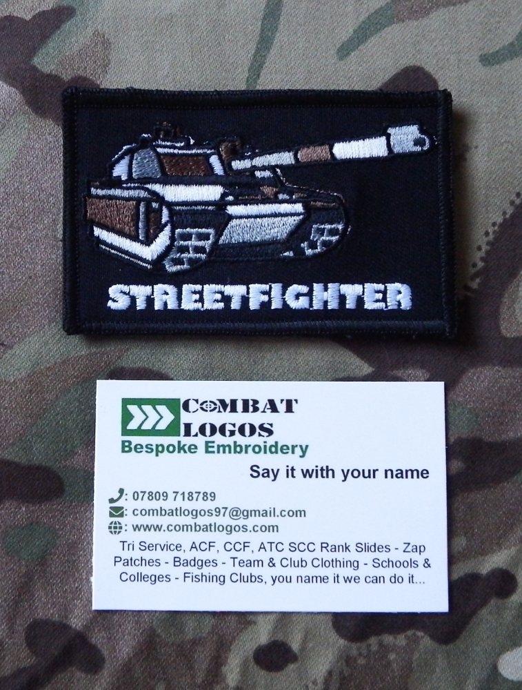 Streetfighter Patches
