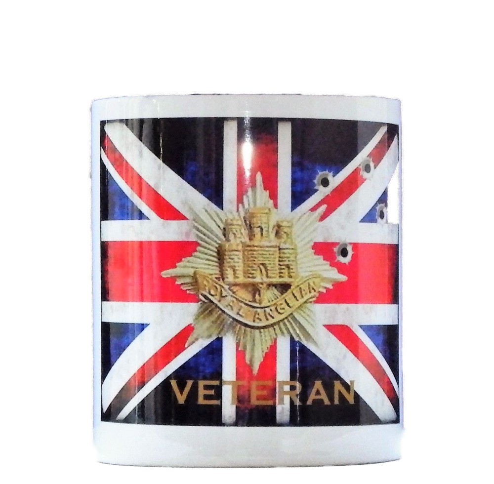 2nd Bn The Royal Anglian Regiment Mug