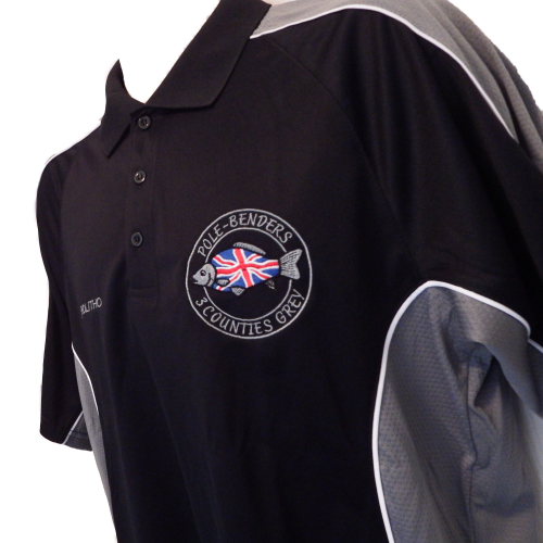Pole Benders Cooltex Contrast Polo Shirt