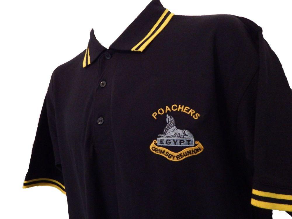 Grimsby Poachers Reunion Contrast Polo Shirt