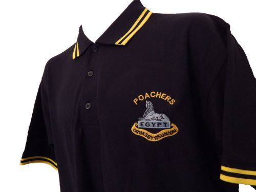 Grimsby Poachers Reunion Contrast Polo Shirt
