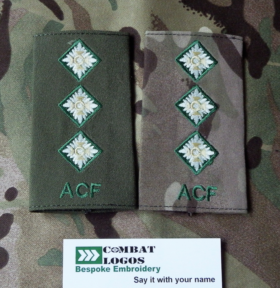 Int Corps Rank Slides