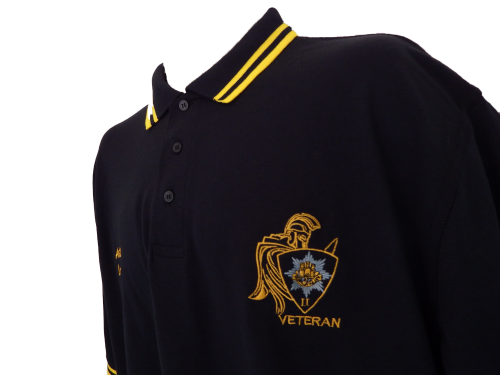 Royal Anglian Warrior Contrast Polo Shirt