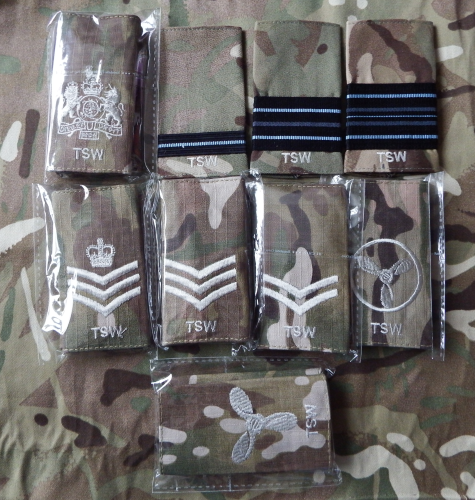 RAF Enlisted & CFAV Rank Slides