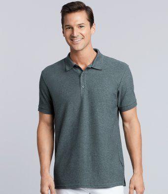 Regimental Cotton Polo Shirts