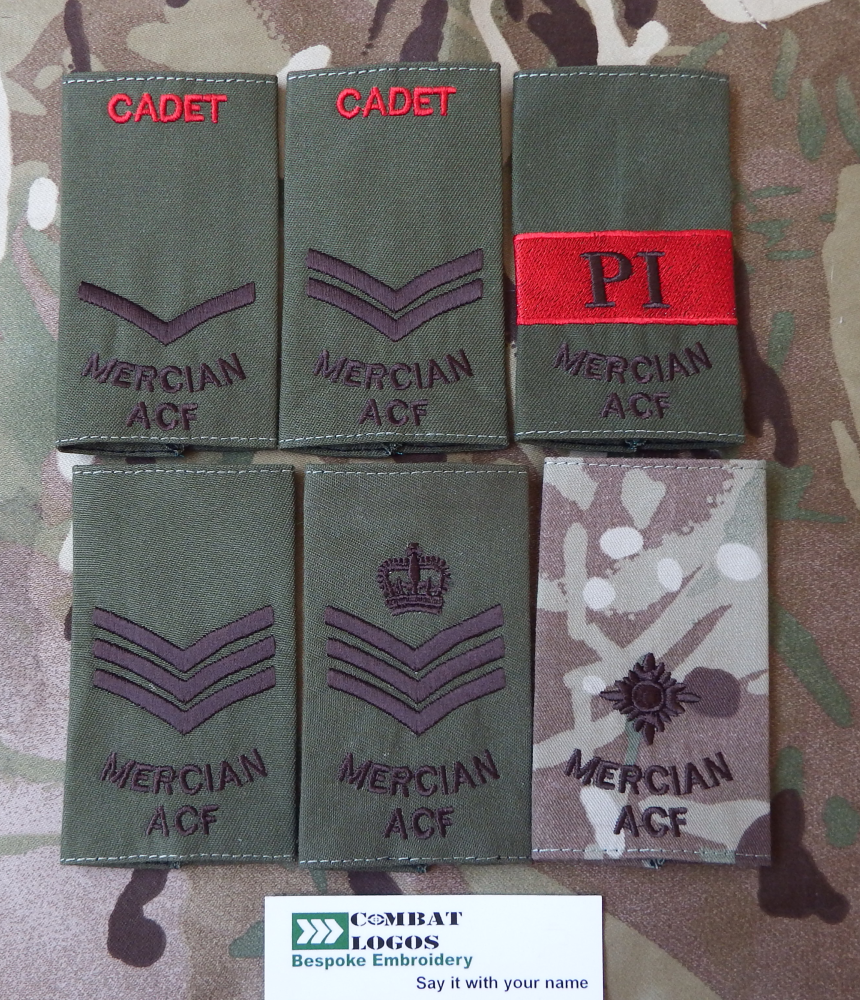 Mercian Rank Slides