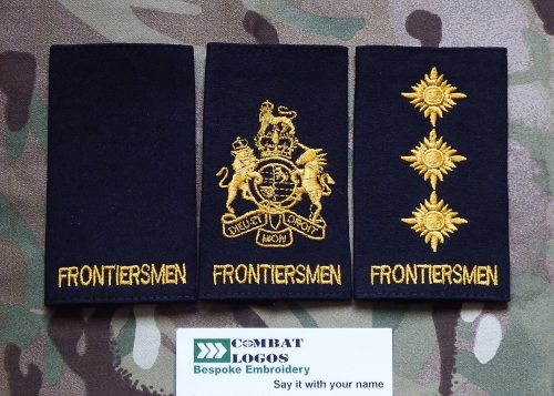 Legion of Frontiersmen Rank Slides