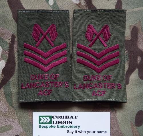 Duke of Lancasters Rank Slides