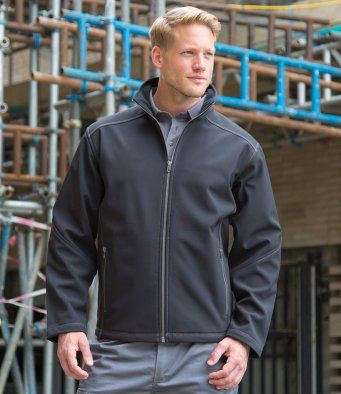Work-Guard Trebble Stitch Soft Shell Jacket