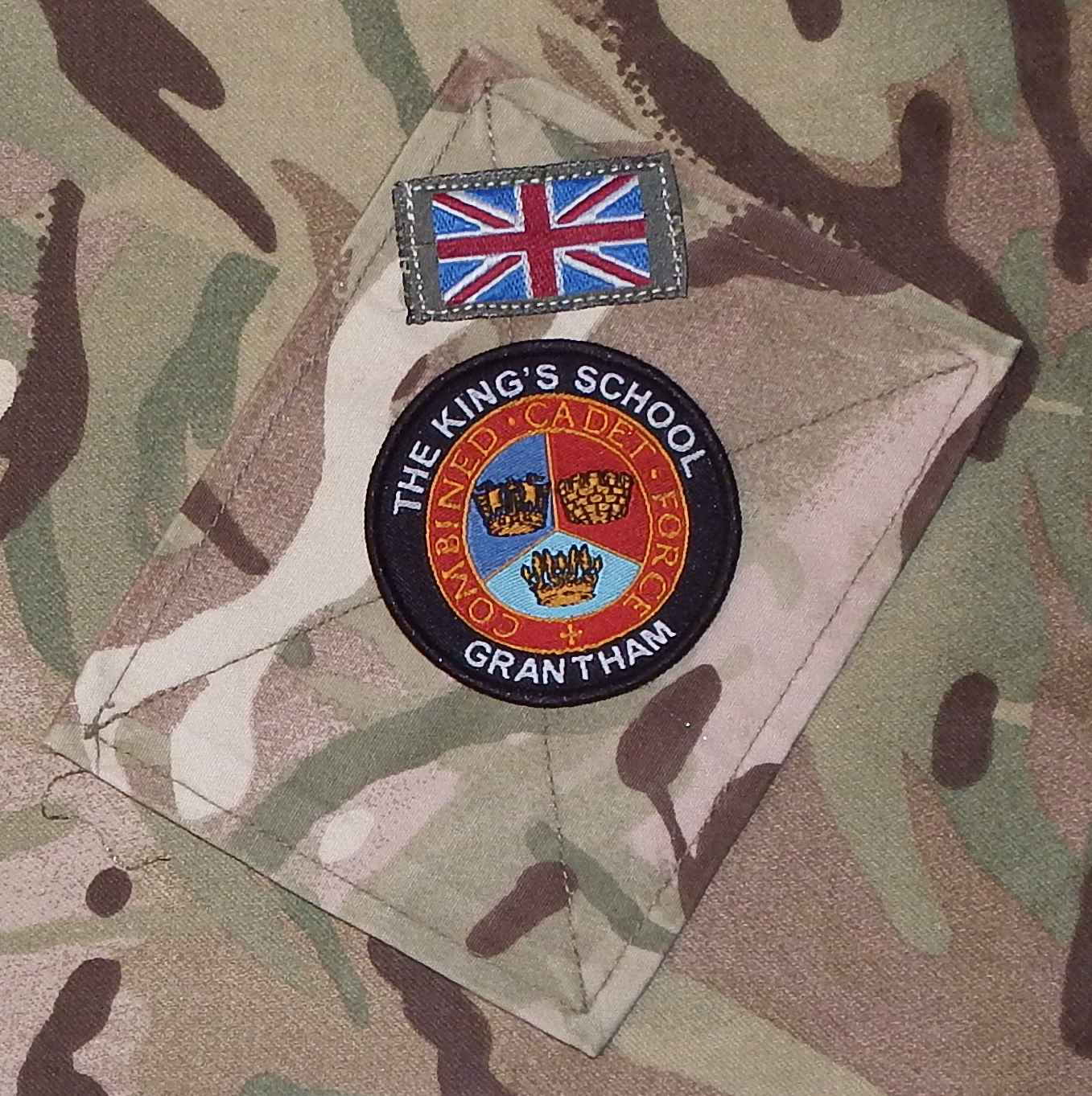 The King's School CCF Badge