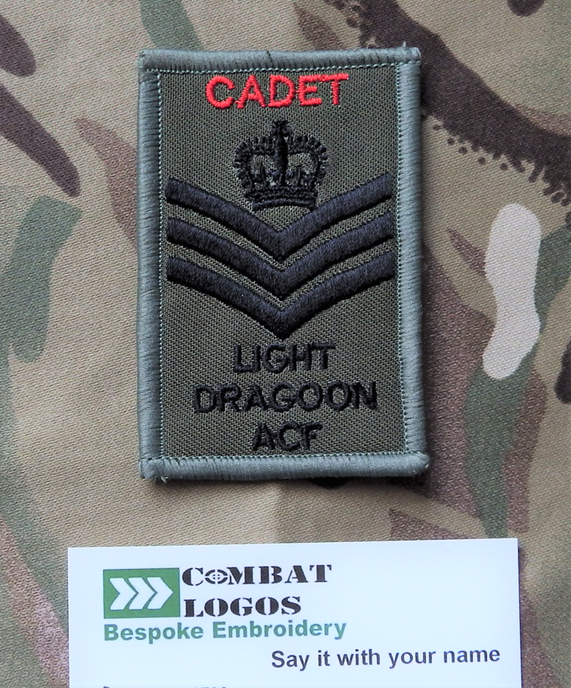 Cadet Rank Patches