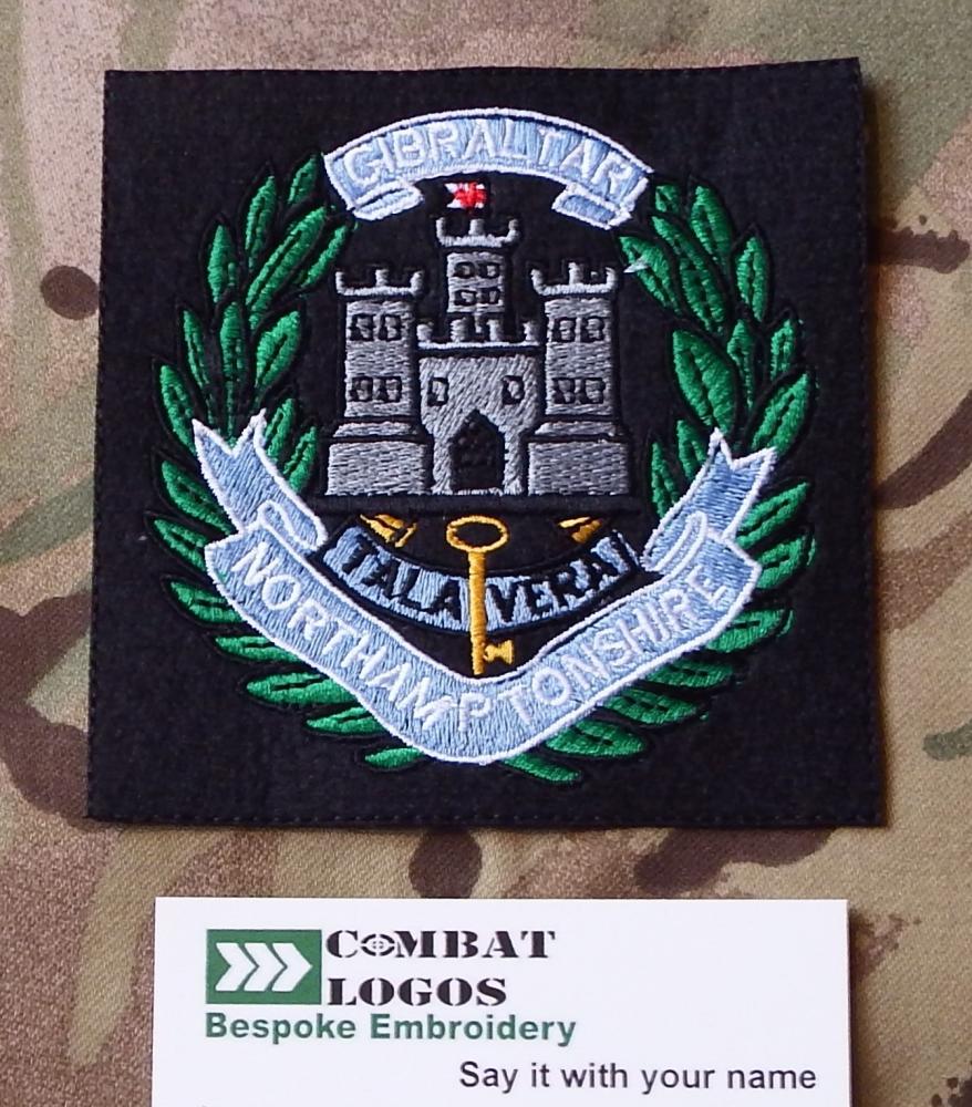 Northamptonshire Regiment Blazer Badge