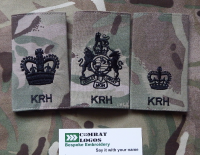 King's Royal Hussars Rank Slides