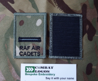 RAF Rank Patches