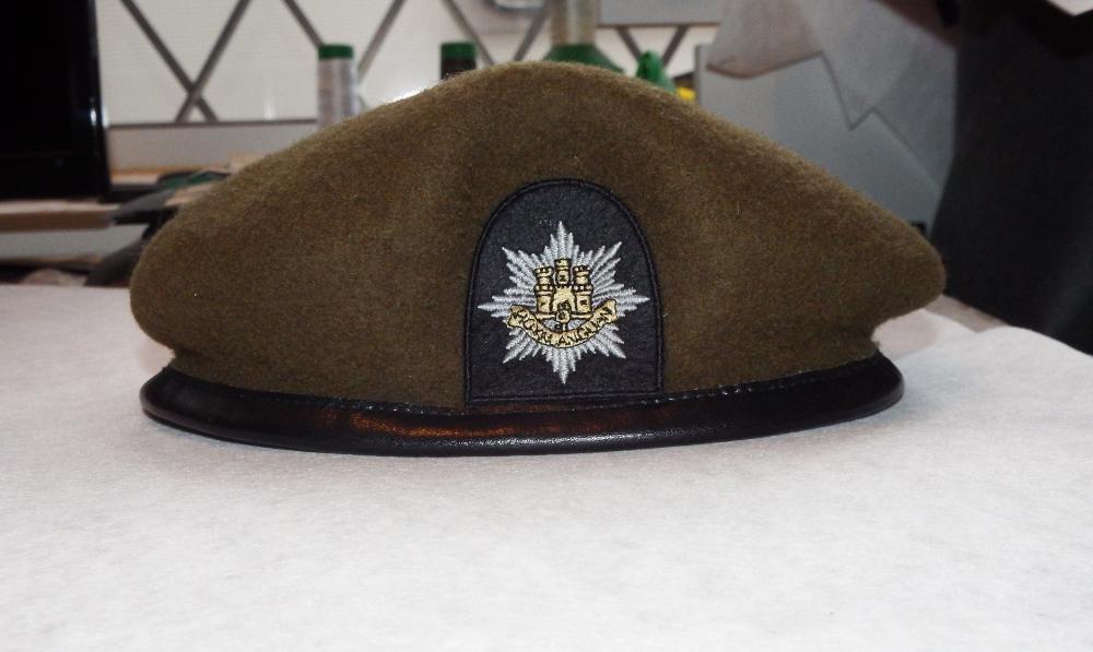 Royal Anglian Regiment Cloth Cap Badges