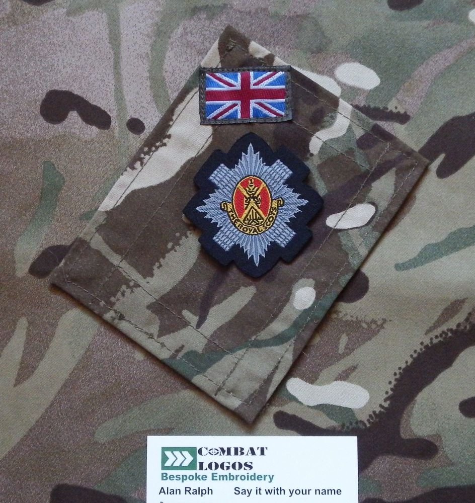 The Royal Scots Woven Cap Badge