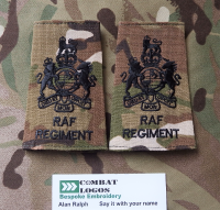 RAF Regiment Rank Slides