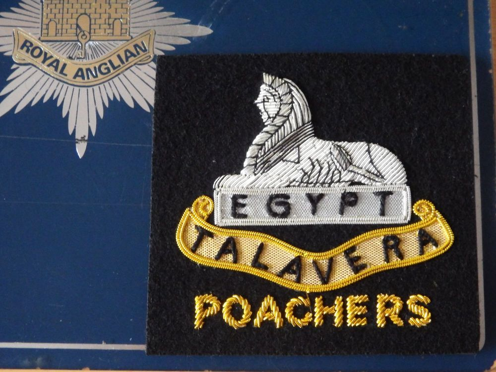 2n Bn Talavera Sphinx Blazer Badge