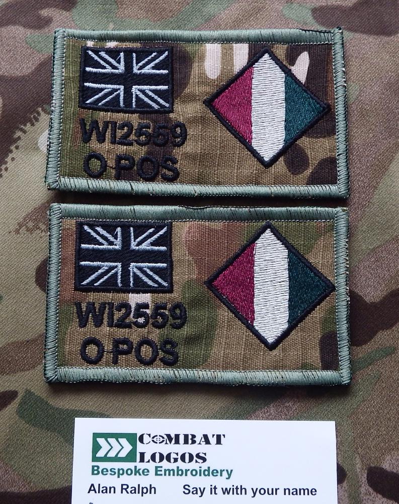 Royal Welsh TRF Zap Patch set